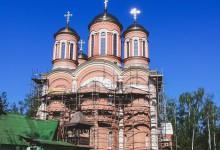 Москва, Поселок Селятино, храм Серафима Сарова